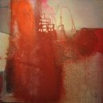 Dust in the wind Acrylmalerei