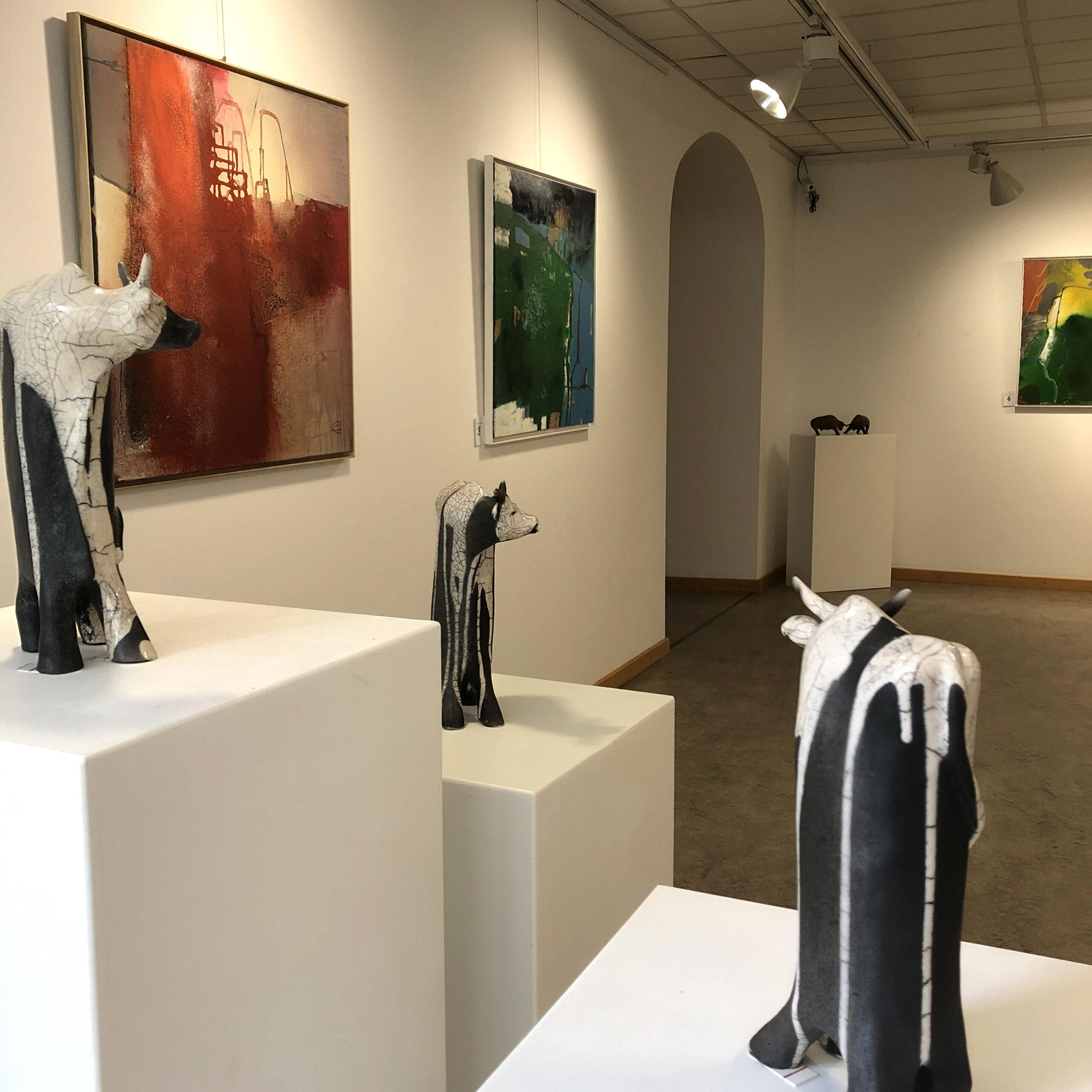 Einblick in die Ausstellung im Lehel