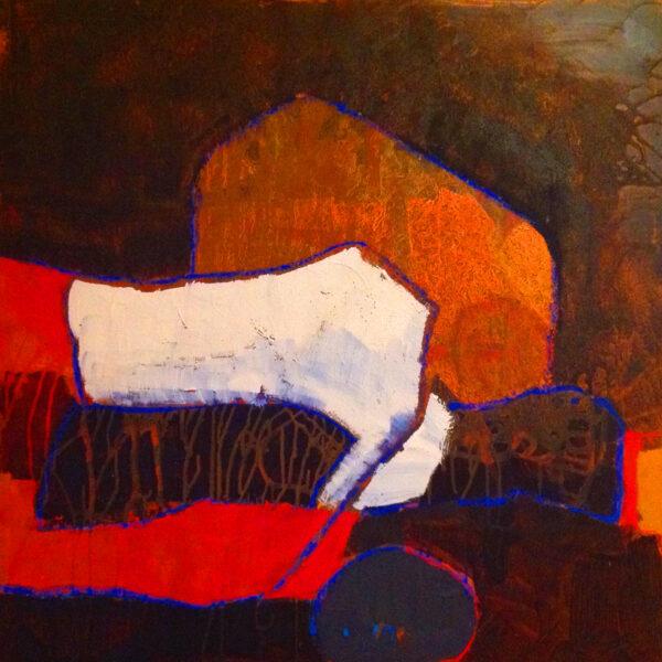 Entanglements Acrylmalerei