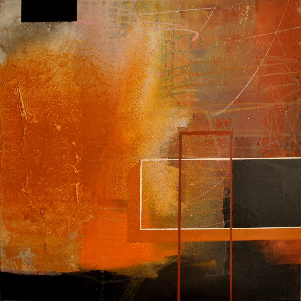 Fragments Acrylmalerei