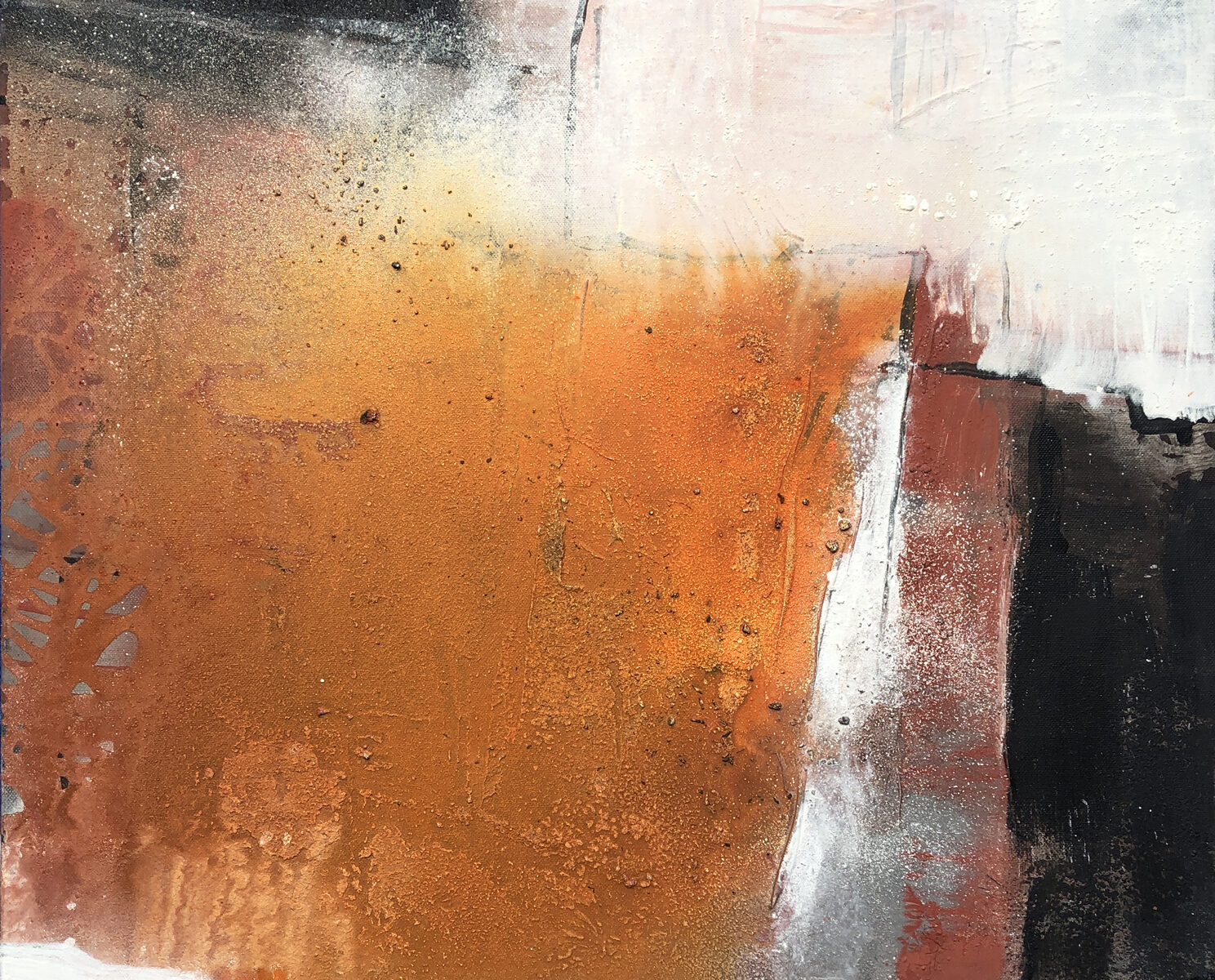 Gobi Acrylmalerei