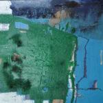Green field Acrylmalerei