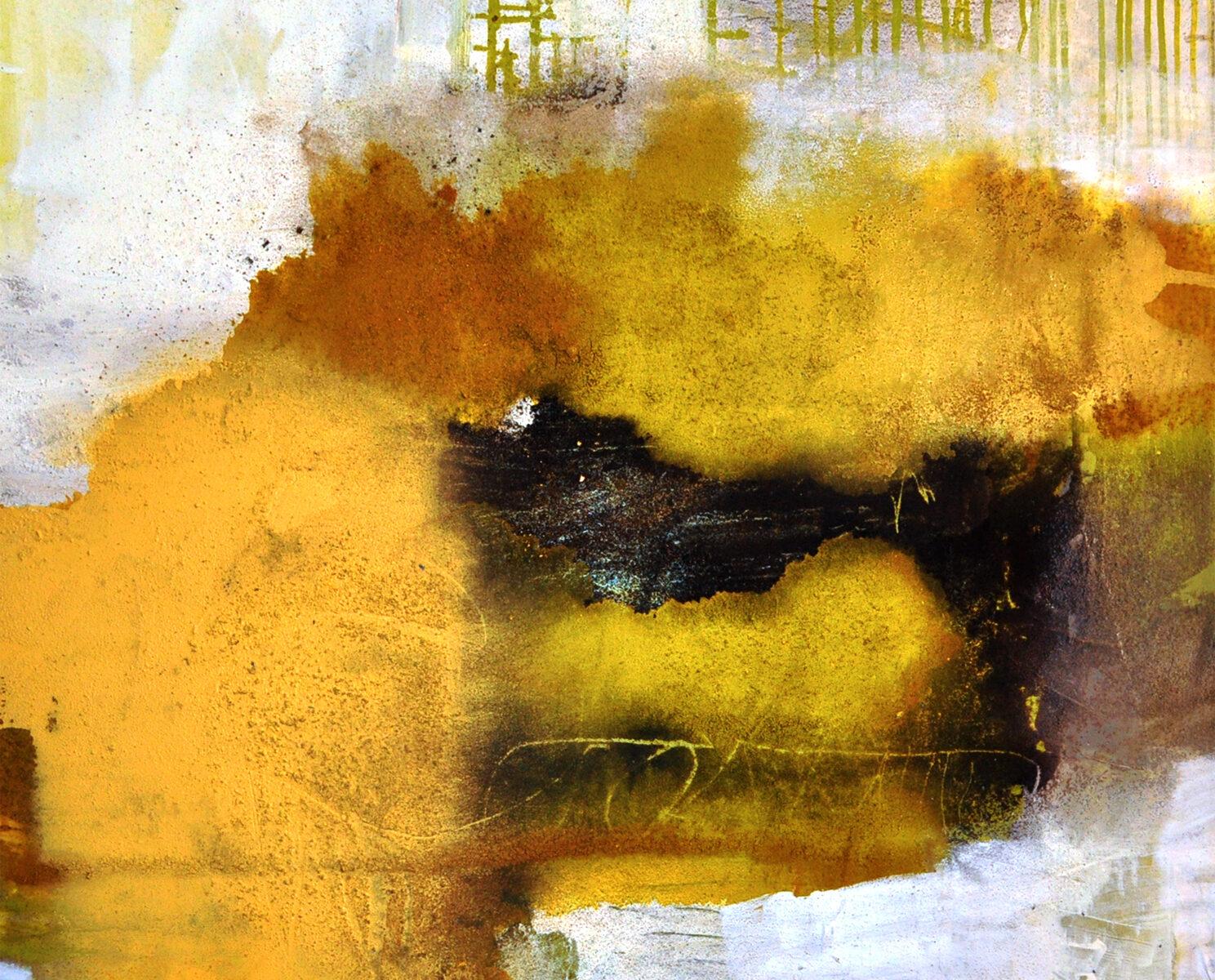 Acryl, Kreide und Marmormehl auf Leinwand, 90 x 90
